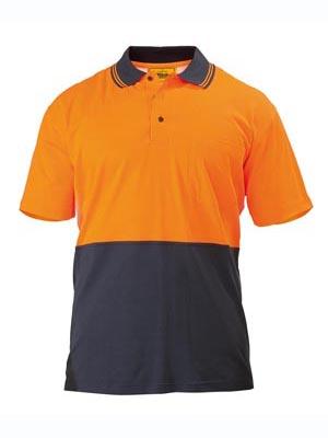 2 Tone Hi Vis Polo Shirt - Short Sleeve